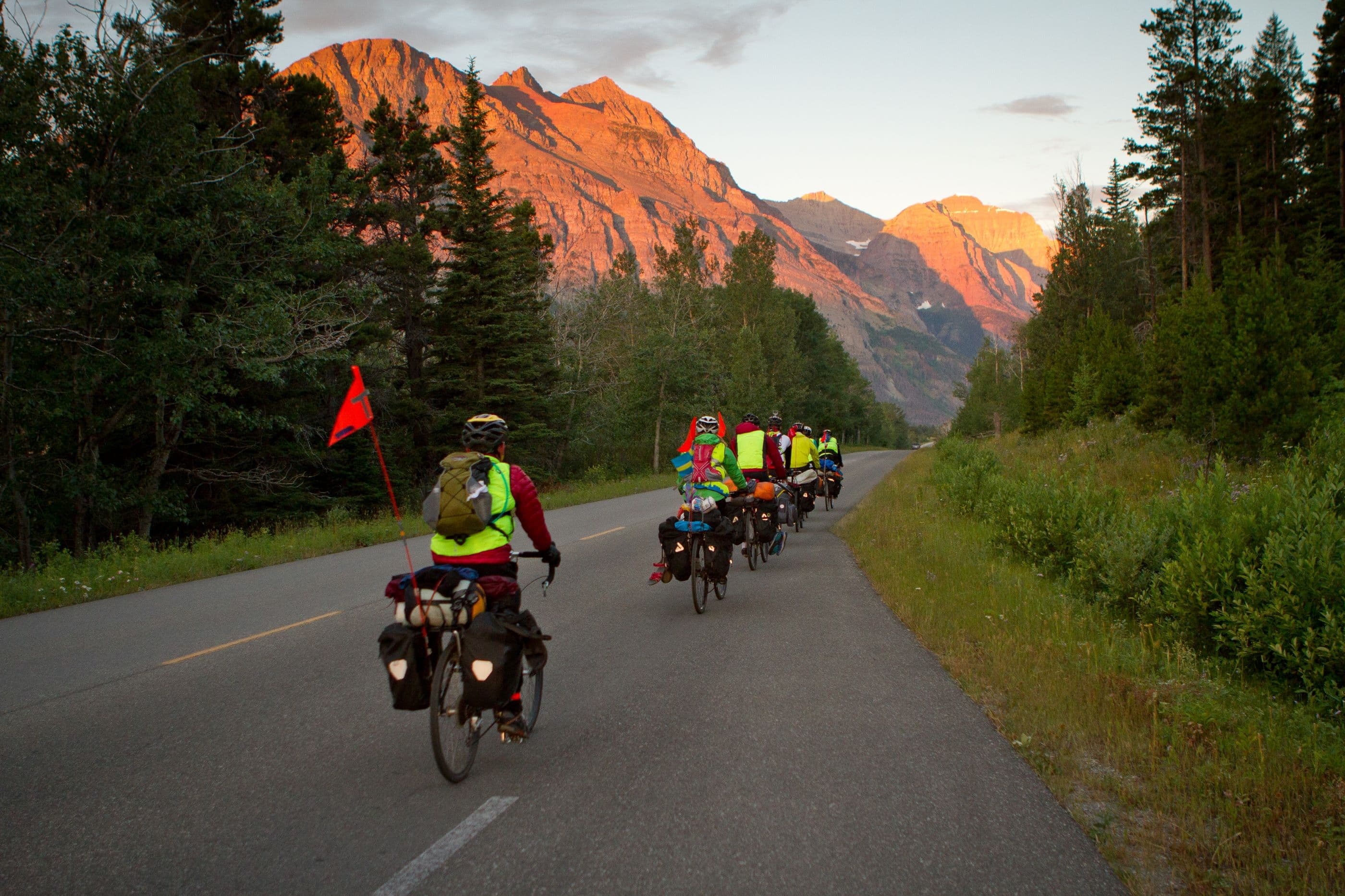 Teen Summer Biking Trips Canadian Rockies