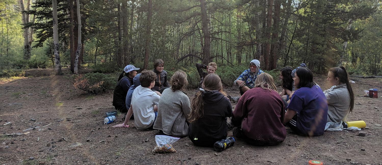 Girls in Sierra Colorado