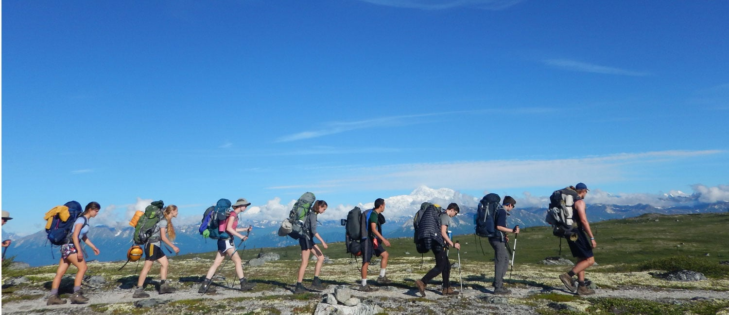 Overland Summers | Alaska Expedition Teen Summer Hiking Trip