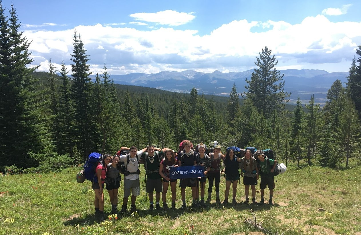 Teen Summer Service and Hiking Colorado 8
