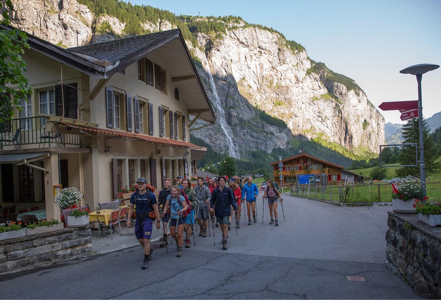 hiking stockup stechelberg