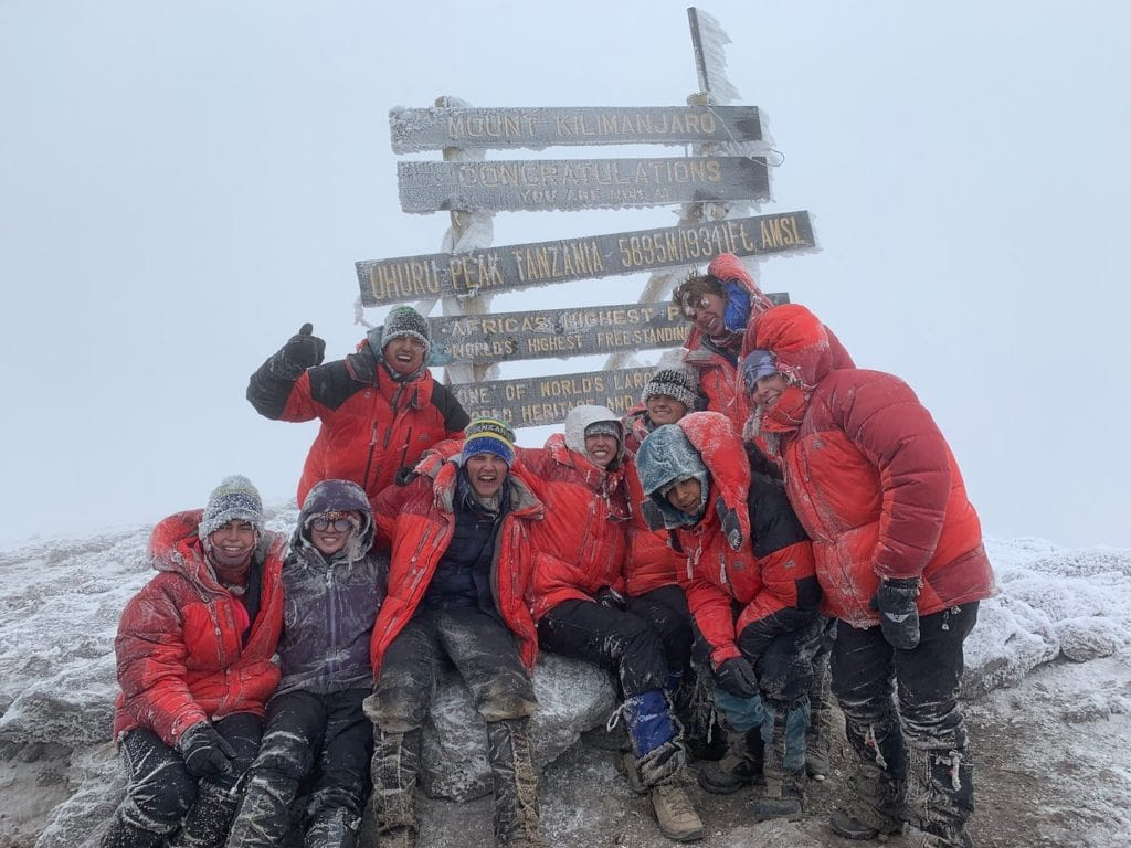 Evan Summits Mt. Kilimanjaro on a summer teen adventure trip
