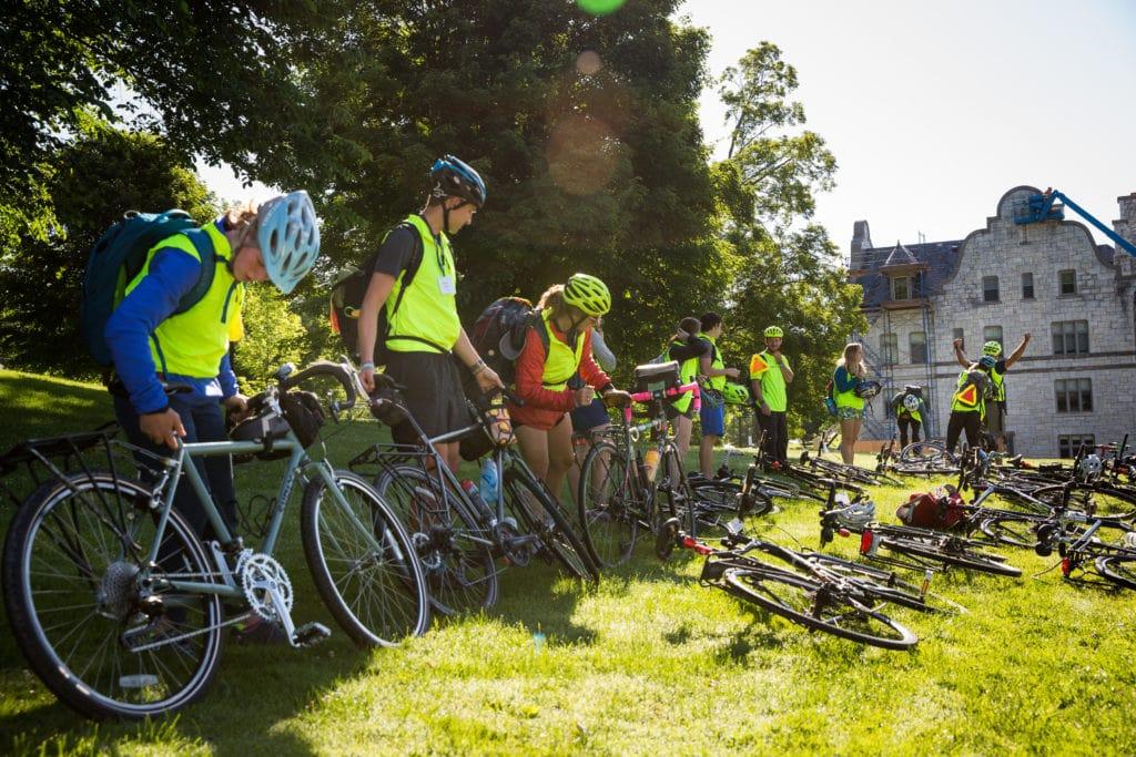 Summer Biking Trip leaders