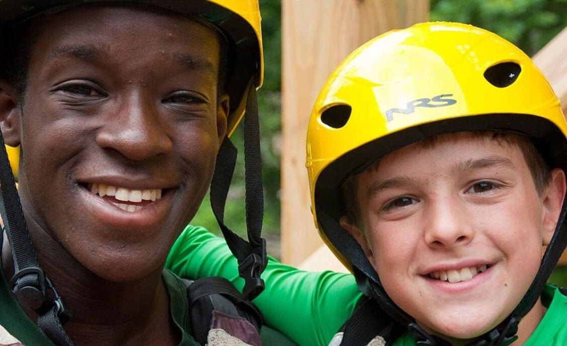 Leaders and campers are friends on our summer adventure programs for teens