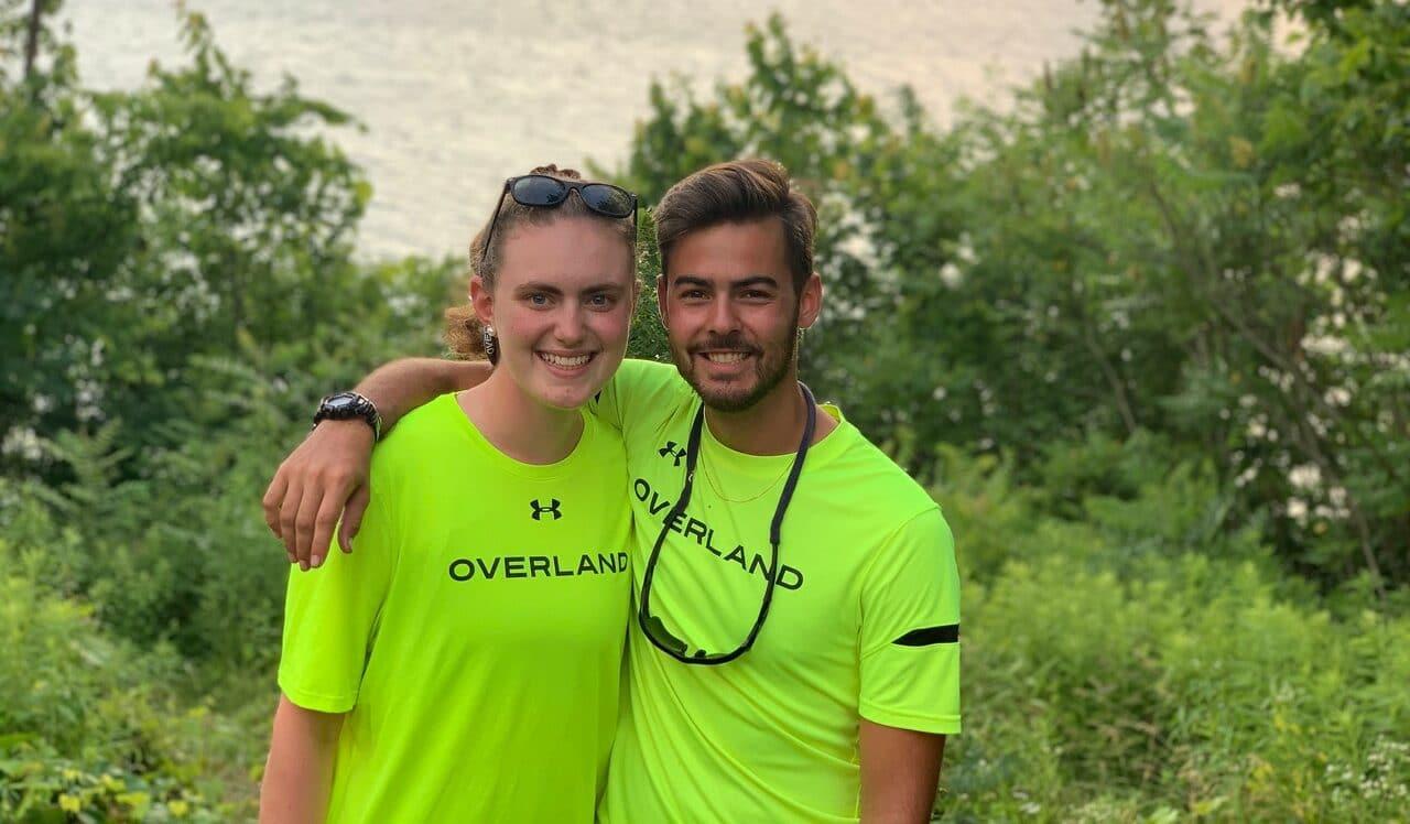 Leaders on an Overland Bike Trip
